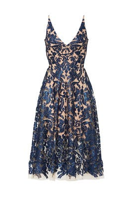 7f200c2cd86cb Blair Sequin Lace Dress by Dress The Population for $30 - $55 | Rent ...