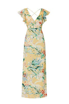 Floral Paradise Maxi by FINDERS KEEPERS