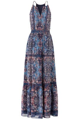 Printed Agnece Maxi by Joie