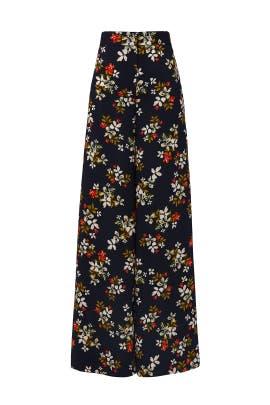 Printed Floral Pants by Jill Jill Stuart
