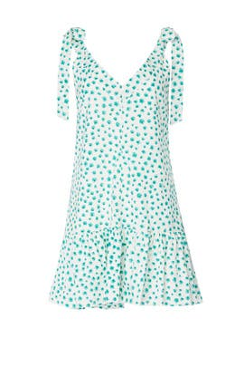 Emerald Daisy Dress by Rebecca Taylor