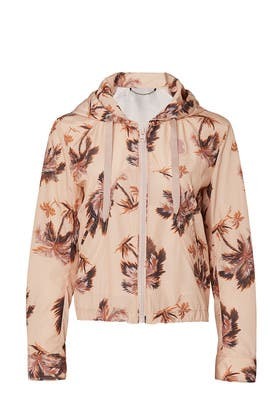 Palm Tree Print Western Windbreaker by Coach