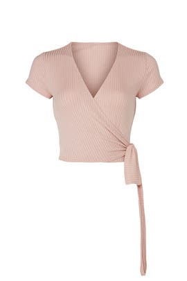 Blush Flora Top by Reformation