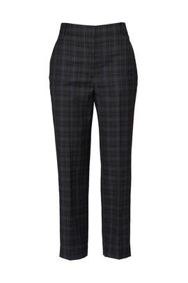 Marvel Plaid Taylor Pants by Tibi