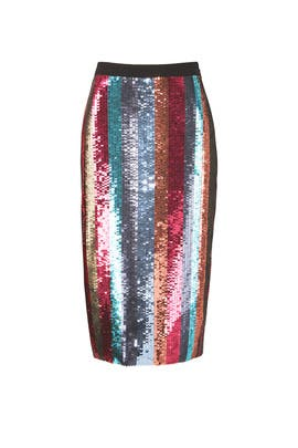 Sequin Samia Skirt by Tanya Taylor