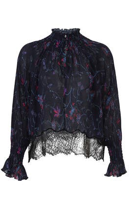Vines Nyssa Top by Tanya Taylor