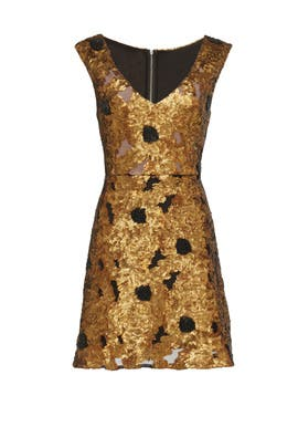 Gold Cleopatra Dress by Tracy Reese