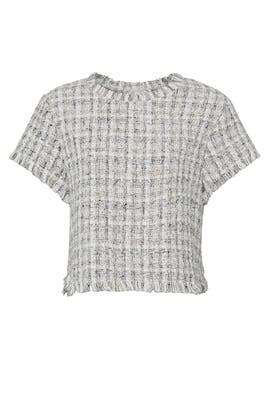 Valeska Tweed Top by cupcakes and cashmere