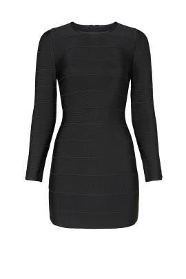 Black Bandage Dress by Hervé Léger