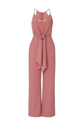 Terracotta Jumpsuit by Harlyn