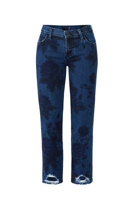 Selena Mid Rise Crop Jeans by J BRAND