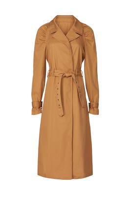 Brown Trench Coat by Love, Whit by Whitney Port