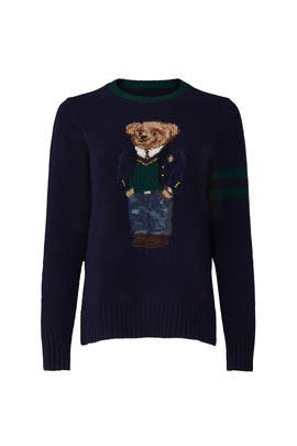 Navy Bear Sweater by Polo Ralph Lauren