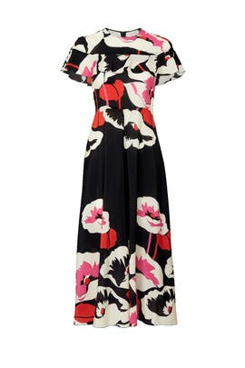 Black Ruffle Top Dress by RED Valentino
