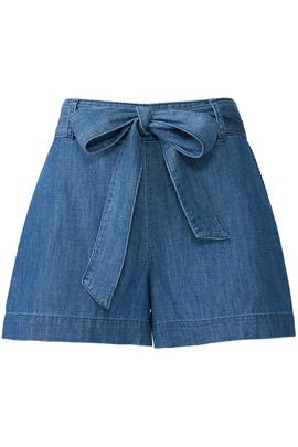 Chambray Shorts by Draper James