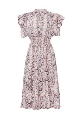 Snake Print Mia Dress by ELLIATT