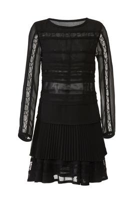 Sheer Lace Cocktail Dress by Jason Wu