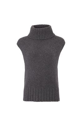 Chrome Sleeveless Sweater by Jason Wu