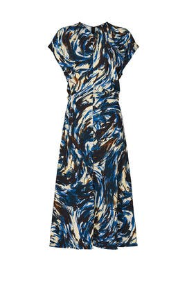 Printed Cady Dress by Proenza Schouler