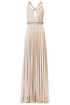 Oyster Classic Convertible Gown by twobirds