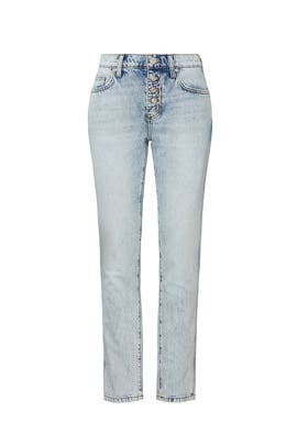 The Zig Zag Fling Rigid Jean by Current/Elliott