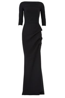 Black Kate Gown by La Petite Robe di Chiara Boni