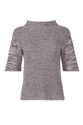 Elbow Sleeve Sweater by Michael Stars