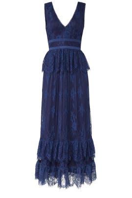 Blue Veronica Dress by Parker