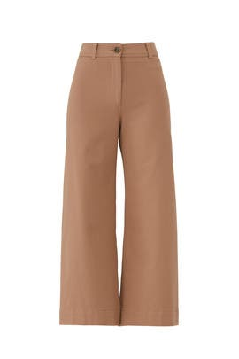 Camel Tailored Pants by Trina Turk