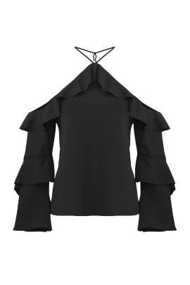 Black Isadora Top by Cooper & Ella