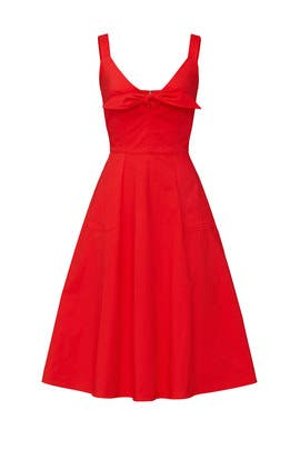 Red Coco Dress by Color Me Courtney
