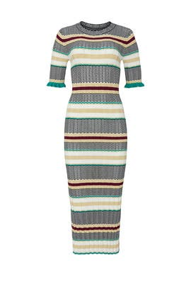 Deandra Striped Sweater Dress by Joie