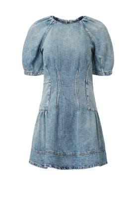 Holland Denim Dress by Jonathan Simkhai