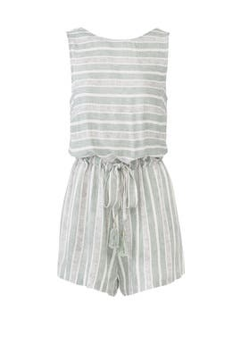 Pure Shores Romper by MINKPINK
