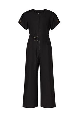 Black Cut Out Jumpsuit by 3.1 Phillip Lim