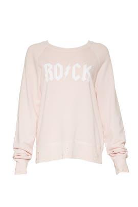 Rock Upper Print Sweatshirt by Zadig & Voltaire