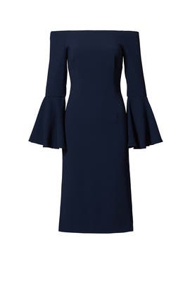 Navy Harmony Dress by Keepsake