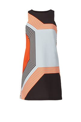 Reed Angular Dress by Milly
