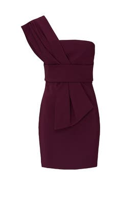 Scarf Detailed Mini Dress by Cushnie