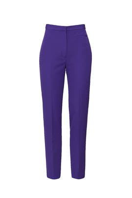 Purple Highwaist Skinny Pants by Milly