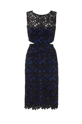 Black Venice Dress By Nicole Miller For 30 50 Rent The Runway