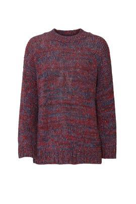 Merlot Hackney Sweater by One Teaspoon