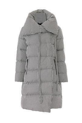 Houndstooth Big Puffa Jacket by Bacon
