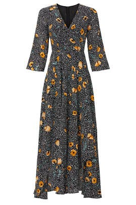 Polka Dot Floral Dress by Great Jones