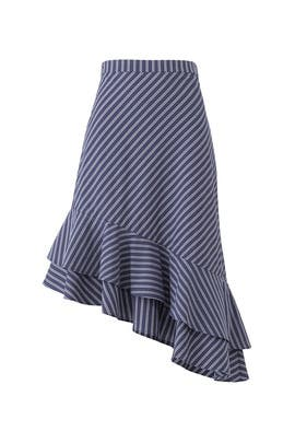 Striped Yenene Skirt by Joie