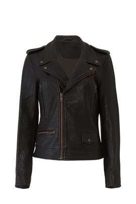 Hotel Leather Jacket by Just Female