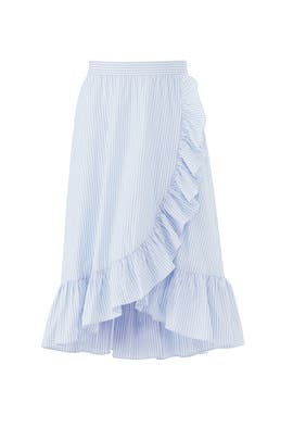 Stripe Morgan Skirt by Jill Jill Stuart