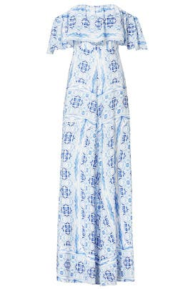 Blue Delilah Maxi by Amanda Uprichard