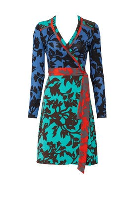 Floral Wrap Dress by Diane von Furstenberg