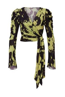 Kayleigh Wrap Top by Diane von Furstenberg